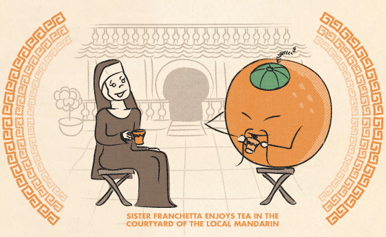 illo - orange tea